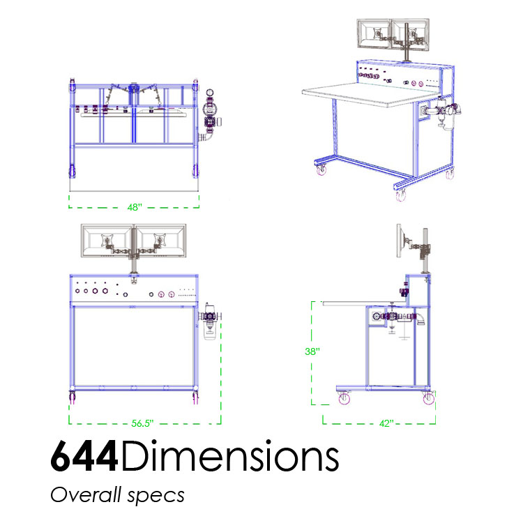 Dimensions - Overall specs