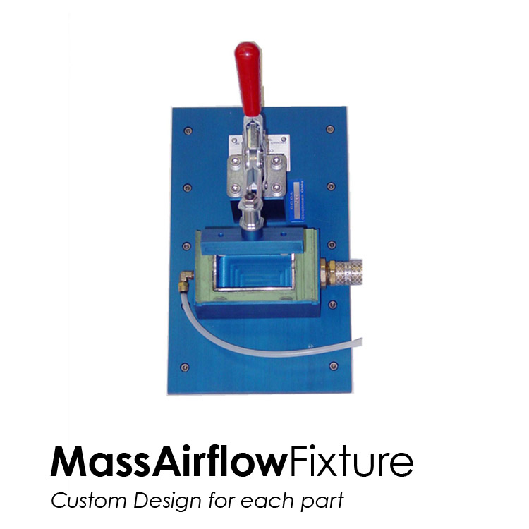 Mass Airflow Fixture - Custom Design for each part